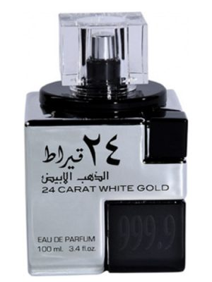 24 CARAT WHITE GOLD Lattafa Perfumes für Frauen und Männer