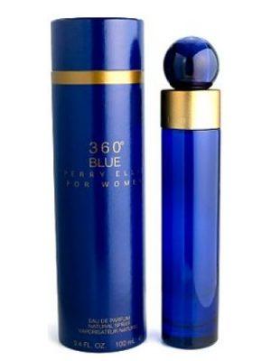 360° Blue Perry Ellis für Frauen