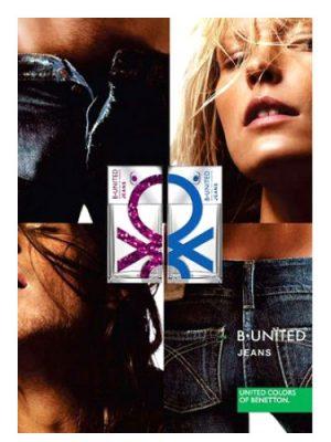 B. United Jeans Woman Benetton für Frauen