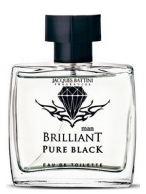 Brilliant Pure Black Jacques Battini für Männer