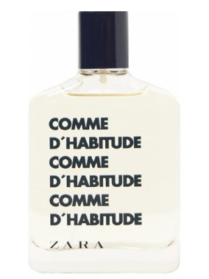 Comme d'Habitude Zara für Männer