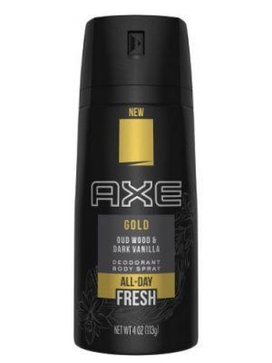 Gold (Oud Wood and Dark Vanilla) Axe für Frauen und Männer