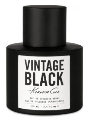 Kenneth Cole Vintage Black Kenneth Cole für Männer