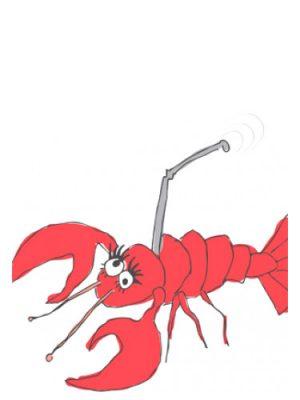 Lobster Cellphone Smell Bent für Frauen und Männer