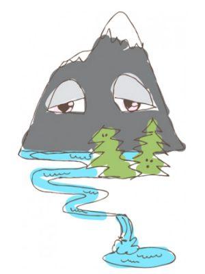Mountain High Smell Bent für Frauen und Männer