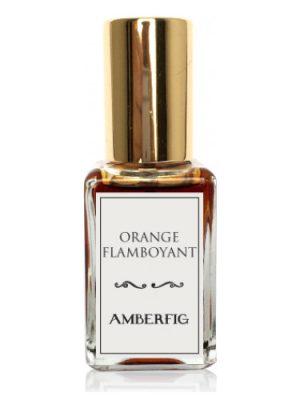 Orange Flamboyant Amberfig für Frauen und Männer