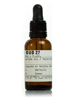 Oud 27 Perfume Oil Le Labo für Frauen und Männer