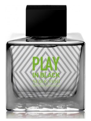 Play In Black Seduction for Men Antonio Banderas für Männer