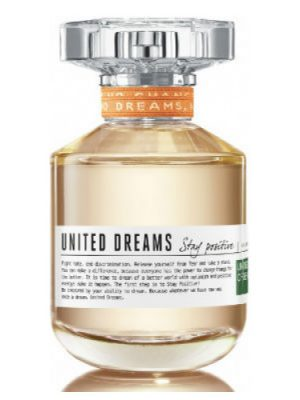 United Dreams Stay Positive Benetton für Frauen